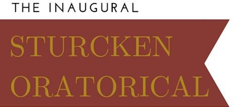 Sturcken Oratorical Banner Logo